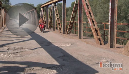 Репортаж за разбит път между Върбица и Чирпан