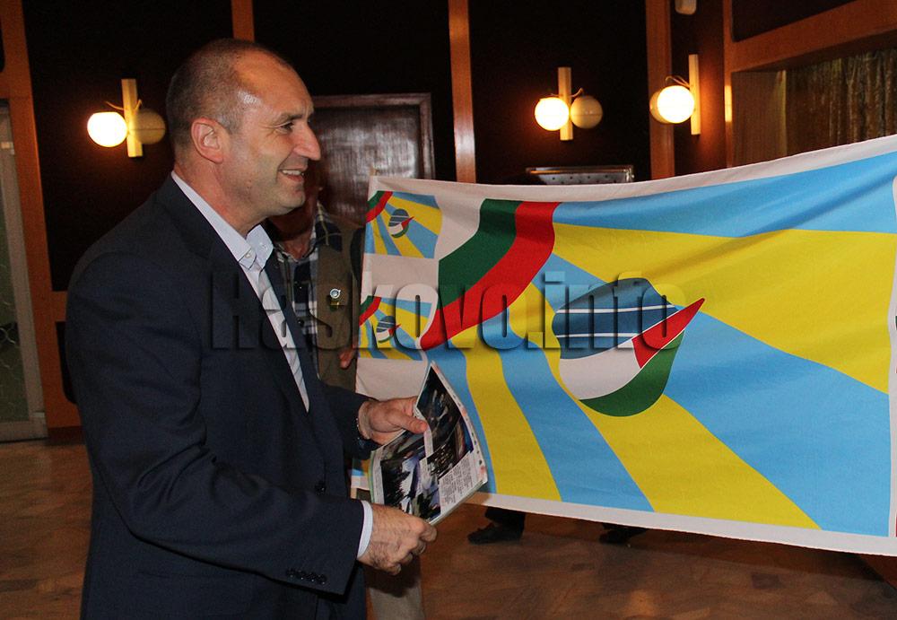 Президентът Радев на среща с бизнеса в Хасково за Трифон Зарезан, няма да зарязва
