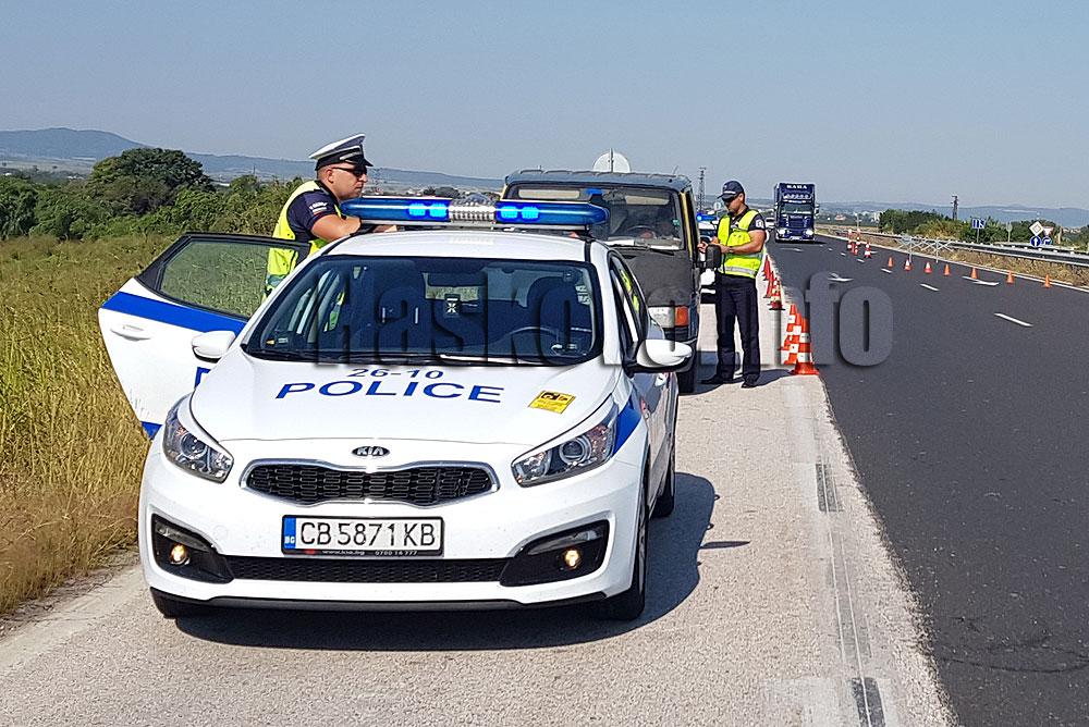 Нови 546 глоби за шофьори в Хасковско
