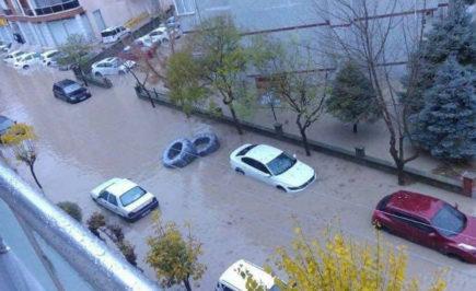 Наводнение в Одрин