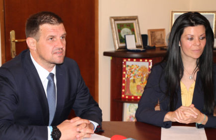 Станислав Дечев и Мария Янева