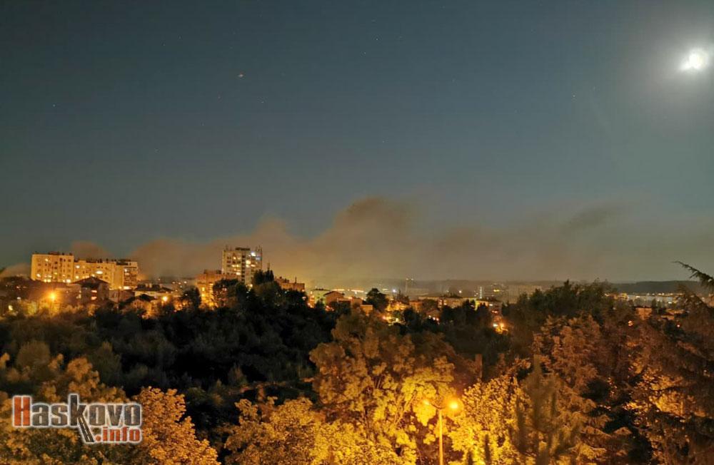 Снимка на деня: Пушек над града