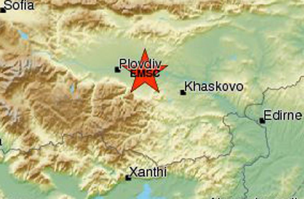 Регистрираха земетресение в близост до Хасковско