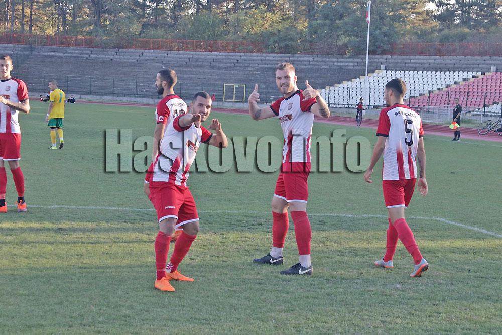 Екшън с 5 гола между Хасково и Свиленград за Купата