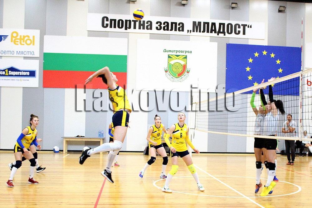 """Младите волейболистки на """"Раковски"""" изиграха първата си контрола в Димитровград"""