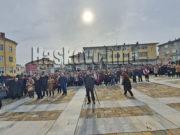 Румен Радев в Ивайловград